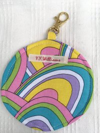 y.y.williams Coin Purse psychedelic(60s サイケ柄 コインケース)