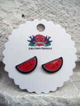 JUBLY-UMPH WATERMELON STUD EARRINGS (スイカ・ピアス)