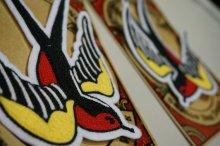 他の写真3: Swallow Nest Design Work×TOMMYGUN Swallow Patch(スワローネストデザインワーク×トミーガン スワローチェーンステッチワッペン)