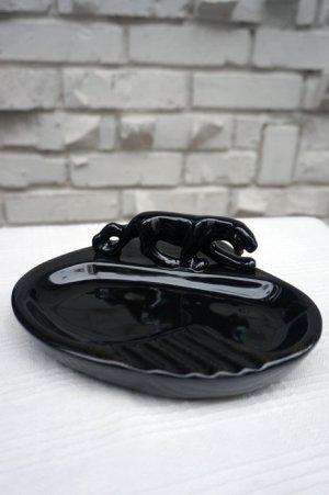 画像1: GOOD ROCKIN' BLACK PANTHER ASHTRAY(ブラックパンサー アシュトレイ)