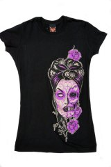 LUCKY13 GIRLFRIEND T-SHIRT MARIE(ラッキー13 レディースTシャツ)