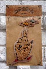 COTTON PICKIN×TOMMY GUN Handmade Patch(コットンピッキン×トミーガン ハンドメイドサガラワッペン)