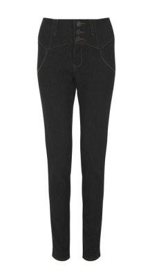 他の写真2: COLLECTIF Rebel Kate HighWaist Denim Jeans  Black (ハイウエスト スリムジーンズ)