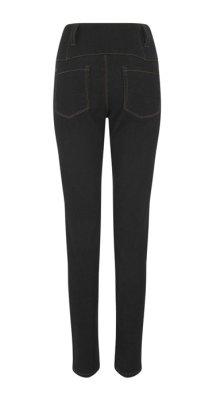 他の写真3: COLLECTIF Rebel Kate HighWaist Denim Jeans  Black (ハイウエスト スリムジーンズ)