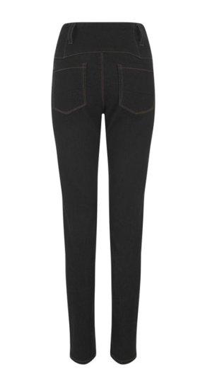 画像2: COLLECTIF Rebel Kate HighWaist Denim Jeans  Black (ハイウエスト スリムジーンズ)
