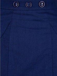 他の写真3: Collectif Vintage Style Plain Pencil Skirt Navy(ビンテージスタイル ペンシルスカート)