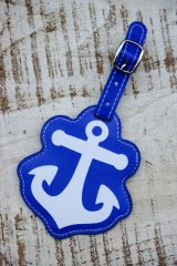 ANCHOR LUGGAGE TAG(マリン アンカーネームタグ)