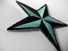 他の写真2: PATCH STAR LIGHT BLUE・トラディショナルスターワッペン・ライトブルー