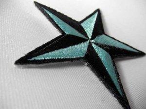 画像3: PATCH STAR LIGHT BLUE・トラディショナルスターワッペン・ライトブルー