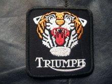 他の写真1: TRIUMPH TIGER PATCH (トライアンフタイガーワッペン)