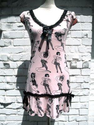 画像2: SALE!! JESSICA LOUISE PINUP FLOUNCE DRESS PINK(ジェシカルイーズ ピンナップワンピース)