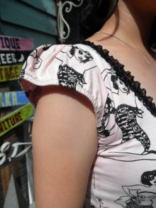 他の写真1: SALE!! JESSICA LOUISE PINUP FLOUNCE DRESS PINK(ジェシカルイーズ ピンナップワンピース)