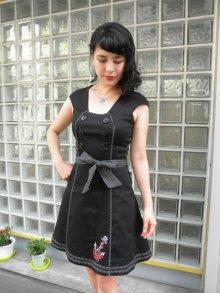 他の写真1: SALE!! Voodoo Vixen 50s' Nautical Sailor Dress (ヴードゥーヴィクセン・ブラックセイラードレス)
