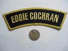 他の写真1: SHOULDER FLASH EDDIE COCHRAN(ロッカーズワッペン・エディーコクラン)