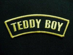 画像1: SHOULDER FLASH TEDDY BOY(ロッカーズワッペン・テディーボーイ)