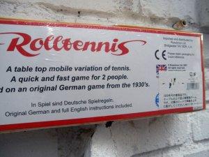 画像2: REPRODUCE CLASSIC TOY ROLLTENNIS(復刻版 1930年代クラッシックゲーム・ロールテニス)