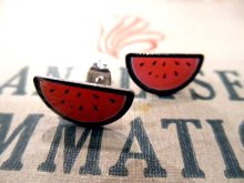 他の写真1: JUBLY-UMPH WATERMELON STUD EARRINGS (スイカ・ピアス)