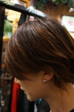 画像2: JUBLY-UMPH  TeaCup Studs Earrings (ティーカップ・ピアス)