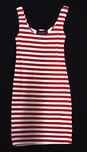 画像2: CABALLERO ROUGE STRIPED TUNK DRESS(ボーダータンクトップワンピース レッド)