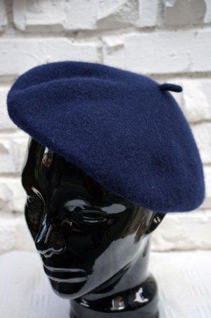 画像2: Béret Plain Navey (ウールベレー帽・ネイビー)