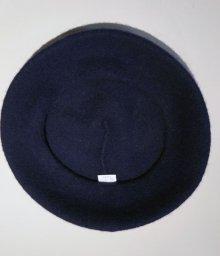 他の写真2: Béret Plain Navey (ウールベレー帽・ネイビー)