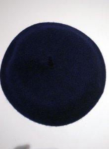 他の写真1: Béret Plain Navey (ウールベレー帽・ネイビー)