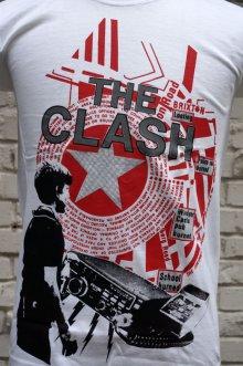 他の写真2: THE CLASH Short Sleeve  T-shirt Out Of Conrol 2(ザ・クラッシュ80s リプロ・ツアーTシャツ)