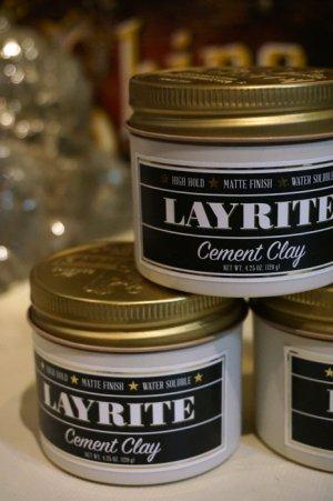 画像1: LAYRITE POMADE CEMENT(レイライトポマード・セメント)
