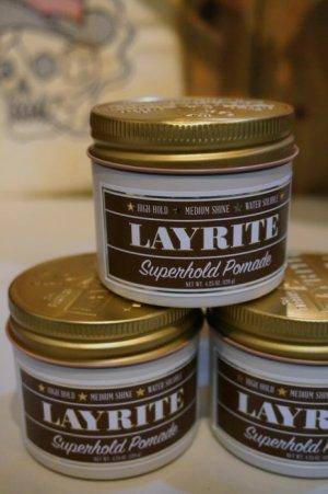 画像1: LAYRITE POMADE SUPER HOLD【レイライト・ポマード スーパーホールド】