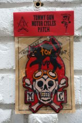 Thunder Alley Tattoo Club×TOMMY GUN MOTOR CYCLES PATCH