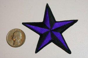 画像2: PATCH STAR PURPLE・トラディショナルスターワッペン・パープル