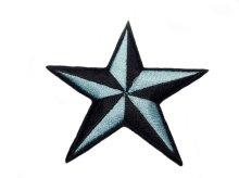他の写真1: PATCH STAR LIGHT BLUE・トラディショナルスターワッペン・ライトブルー