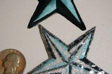 他の写真3: PATCH STAR LIGHT BLUE・トラディショナルスターワッペン・ライトブルー