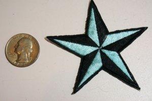 画像2: PATCH STAR LIGHT BLUE・トラディショナルスターワッペン・ライトブルー