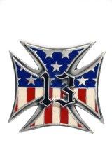 LUCKY-13 USA CROSS Belt buckles・ラッキー13 アメリカンクロス ベルトバックル