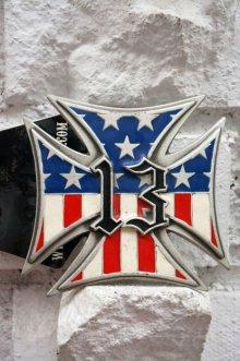 他の写真1: LUCKY-13 USA CROSS Belt buckles・ラッキー13 アメリカンクロス ベルトバックル