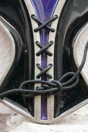 画像3: CORSET purple belt buckle(コルセット型ベルトバックル)