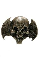 Bat wing and Skull Belt buckle(バットウイング×スカル ベルトバックル)