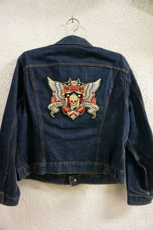 他の写真3: SKULL AND WING BIG PATCH (スカルウイング タトゥーワッペン 特大サイズ)