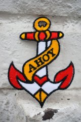 AHOY!ANCHOR PATCH(アンカーワッペン)