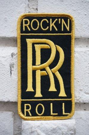 画像2: ROCK'N'ROLL ダブルR PATCH