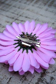 他の写真3: PIN-UP HAIR CLIP GERBERA PINK(フラワーヘアークリップ ガーベラ  ピンク ロカビリー ピンナップ)