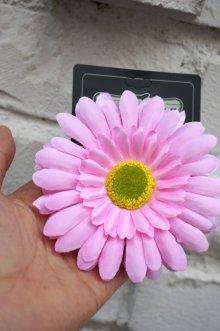 他の写真1: PIN-UP HAIR CLIP GERBERA PINK(フラワーヘアークリップ ガーベラ  ピンク ロカビリー ピンナップ)