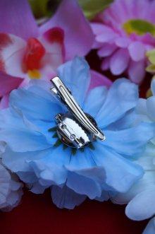 他の写真2: PIN-UP HAIR CLIP CARNATION BLUE(フラワーヘアクリップ・ブルー ロカビリー ピンナップ)
