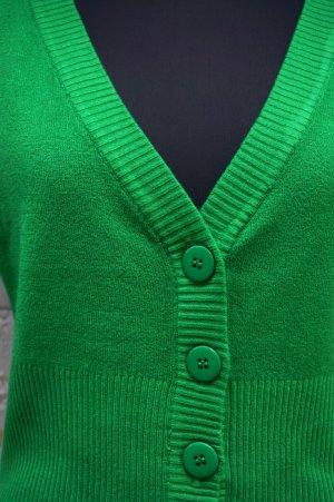 画像4: VINTAGE STYLE SHORT CARDIGAN PLAIN GREEN(ビンテージスタイル Vネックカーディガン)