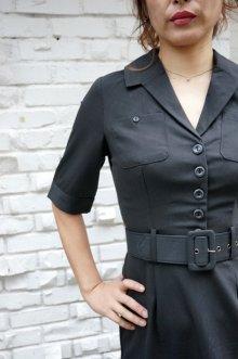 他の写真3: COLLECTIF 50s ROCKABILLY PENCIL DRESS BLACK(50sスタイル ロカビリーペンシルワンピース)