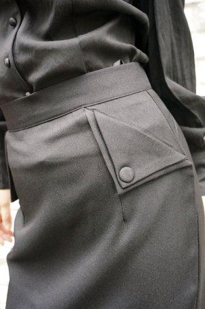 画像3: BANNED 50s STYLE PENCIL WIGGLE SKIRT BLACK(50s ビンテージスタイル ペンシルスカート ブラック)