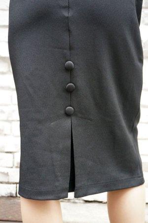 画像4: BANNED 50s STYLE PENCIL WIGGLE SKIRT BLACK(50s ビンテージスタイル ペンシルスカート ブラック)