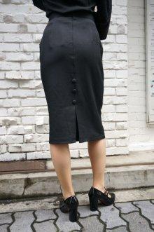 他の写真2: BANNED 50s STYLE PENCIL WIGGLE SKIRT BLACK(50s ビンテージスタイル ペンシルスカート ブラック)