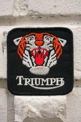 TRIUMPH TIGER PATCH (トライアンフタイガーワッペン)